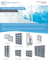 PCI Cleanroom Storage