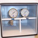 Pressure Gage Cabinet