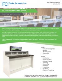 PCI Downdraft Table
