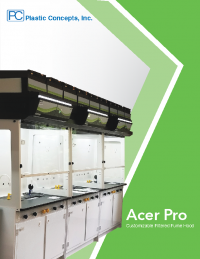 PCI Filtered Fume Hood Flyer